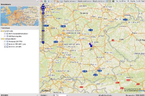 WebGIS, Darstellung von georeferenzierten Daten