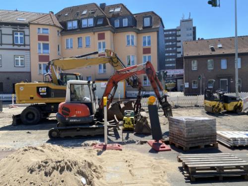Innerstädtischer Bau - Messung nach DIN 4150-3